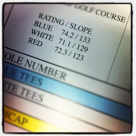Golf Slope Rating - Golficity