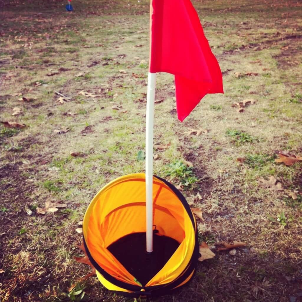 Birdieball BirdieTarget Flag - Golficity