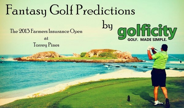 Fantasy Golf Predictions 2013 Farmers Insurance Open