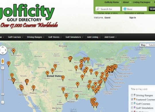 Golficity Golf Directory - Search, Rate, and Review Golf Courses Worldwide