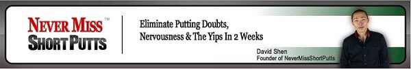 Never Miss Short Putts Program