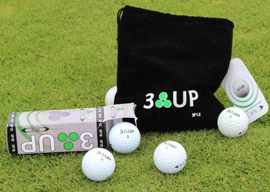3 Up Golf Ball Review - 3F12 Golf Ball Review