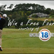 Win a Free Foursome Tee Time from Golf18 Network