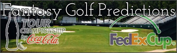 Fantasy Golf Picks Odds and Predictions for the 2014 TOUR Championship