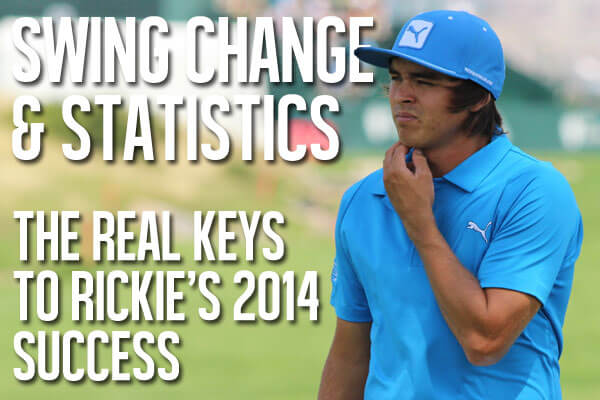 Rickie Fowler 2014 Swing Change and Statistics
