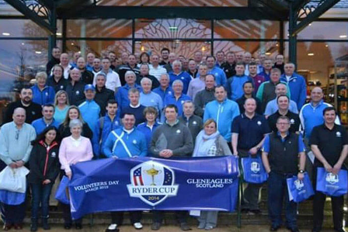 Ryder Cup Volunteer Shares His Story of the Power of Social Media