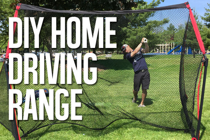 Backyard Driving Range how to build your own home driving range for under $1k