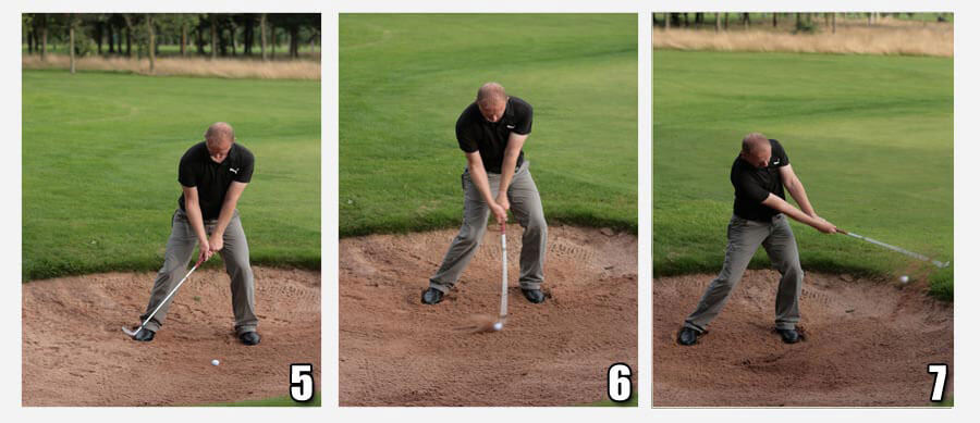 Greenside Bunker Tips - Positions 5-6