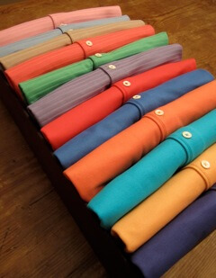 Martin Shirts 2013 - color palettes Riviera and Costa del Sol