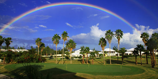 Provo Golf Club in Turks and Caicos - Rainbow