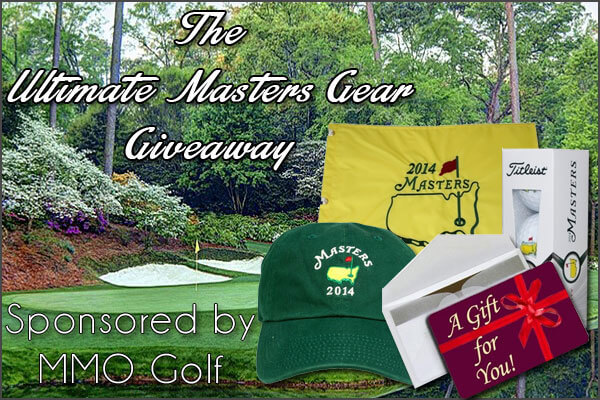 Ultimate Masters Gear Giveaway - Golficity