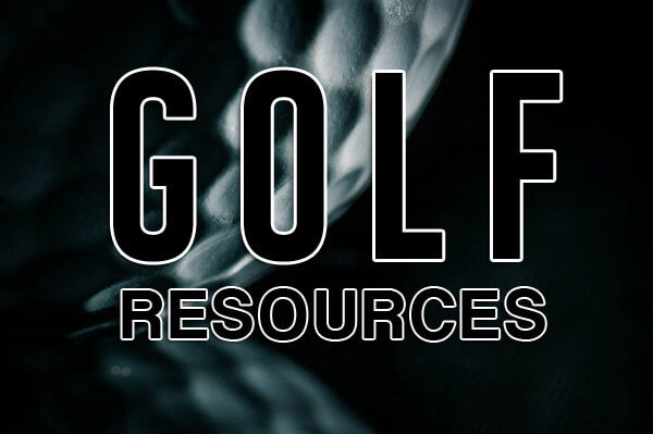 Golf Resources - Golf Resouce Page