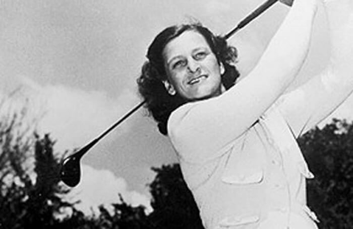 Ladies to Legends Hall of Fame Golfer Babe Zaharias