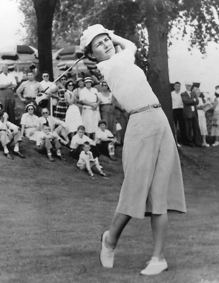 Ladies to Legends Hall of Fame Golfer Louise Suggs