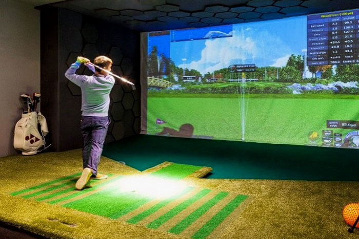 Golf Simulator For Sale >> How To Build A Home Golf Simulator For Under 2 000