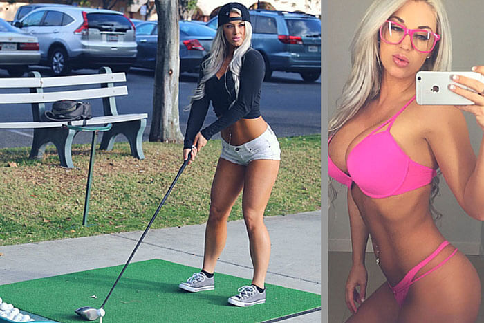 hot golf girls