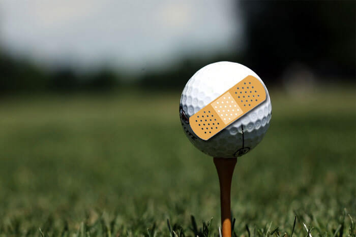 Does Your Golf Game Need a Band-Aid or First Aid