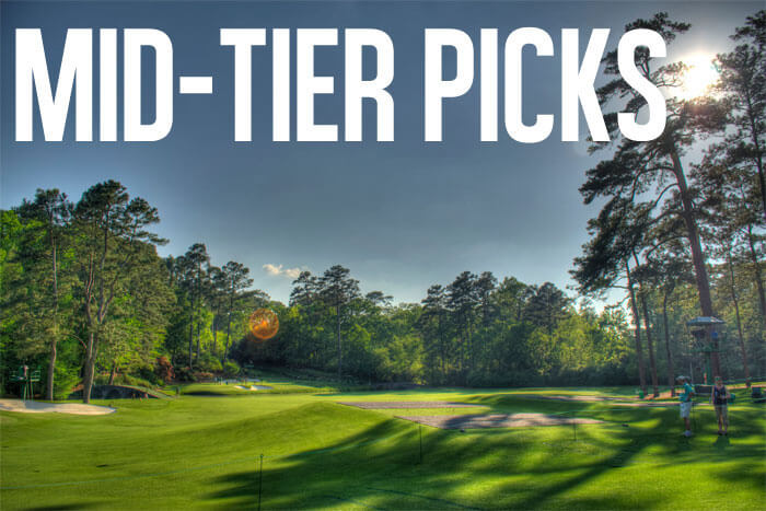 Three Overlooked Mid-Tier Fantasy Picks for The Masters