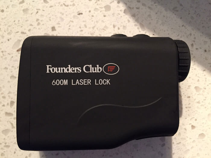 Founders Club Laser Lock 600 Golf Range Finder Review 3
