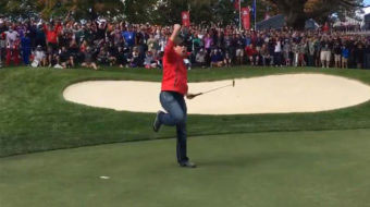 Ryder Cup Heckler Challenged to Make Putt and Absolutely Drills it