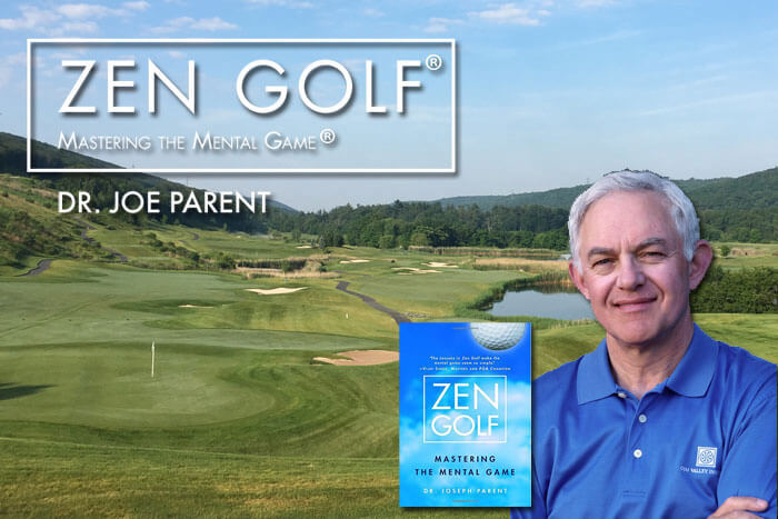 Dr. Joseph Parent Author of Zen Golf on The Golf Podcast