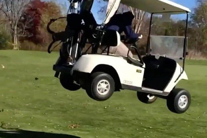 5 Guys Who Should Not Be Allowed Anywhere Near a Golf Cart