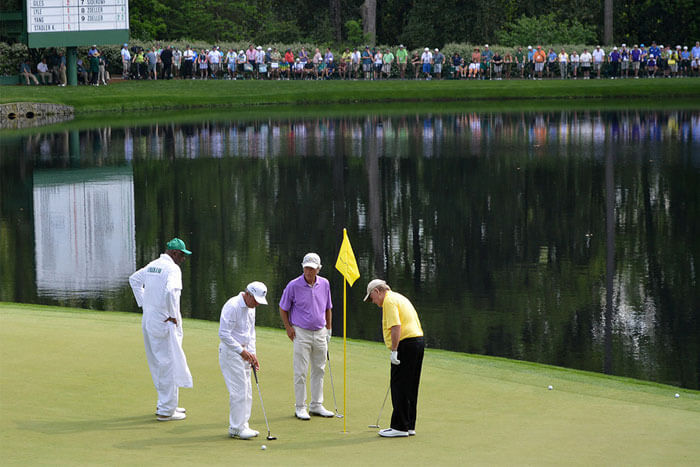 Who Would Be Your Dream Playing Partner At Augusta