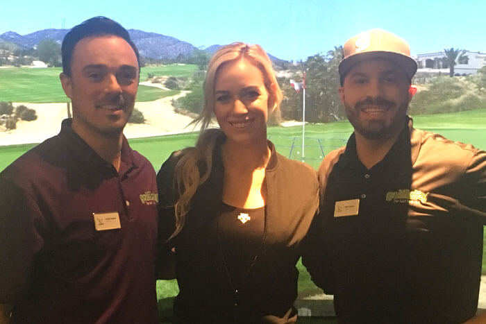 paige spiranac on the golf podcast presented by golficity