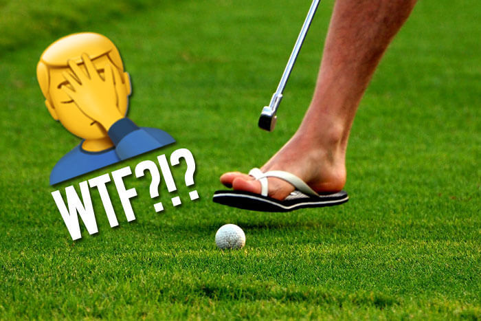 21 Ridiculously Bad Golf Stock Photos that Should Never Exist
