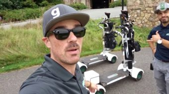 New Vlog Episode – Frank & Mike Play Crystal Springs on Golf Boards