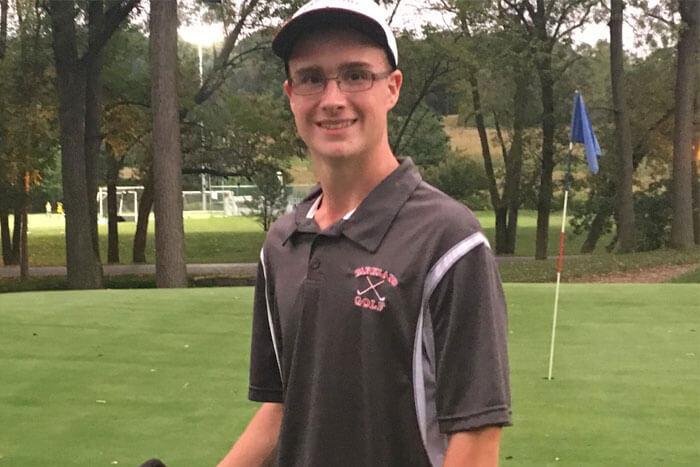 High School Golfer Ben Tetzlaff Drills Two Aces in 9 Holes