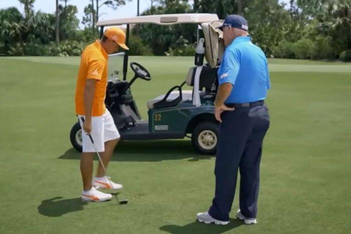 PGA TOUR wearing shorts