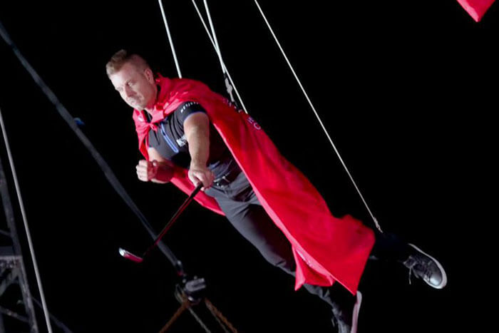 Henrik Stenson Injured in Promotional Stunt