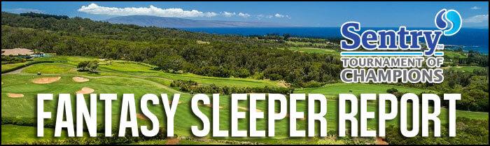 Fantasy-Golf-Sleeper-Report-Sentry-Tournament-Of-Champions-Inside