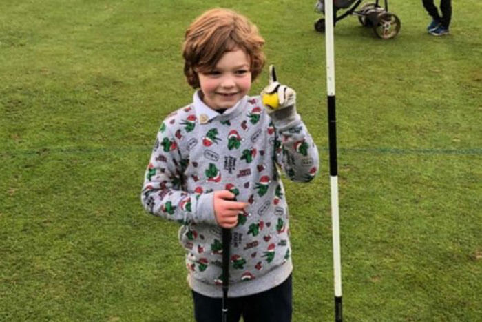 A-Seven-Year-Old-Made-an-Ace-in-His-First-Ever-Round-of-Golf