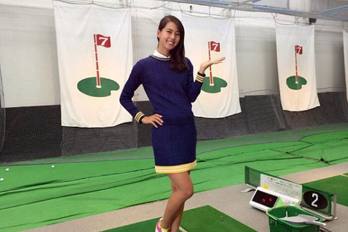 Japan Miss Universe Contestant is Also a Stud Golfer