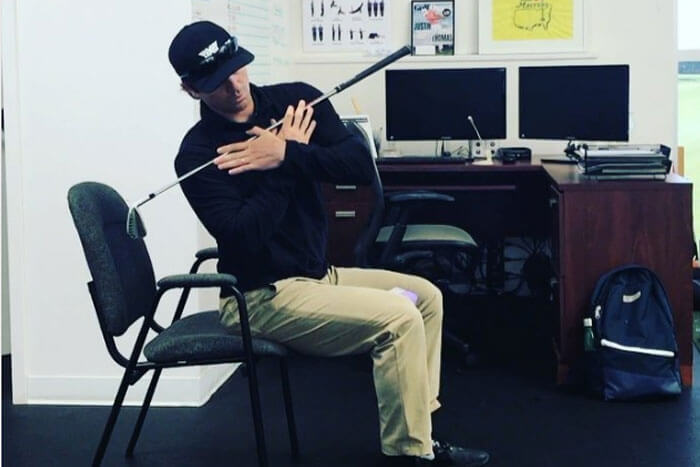 Staying in Golf Shape at Your Desk