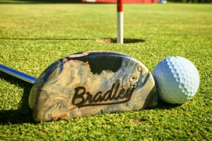 Brad Converse of Bradley Putters on The Golf Podcast