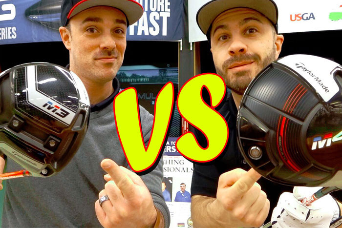 TaylorMade M3 vs M4 Drivers