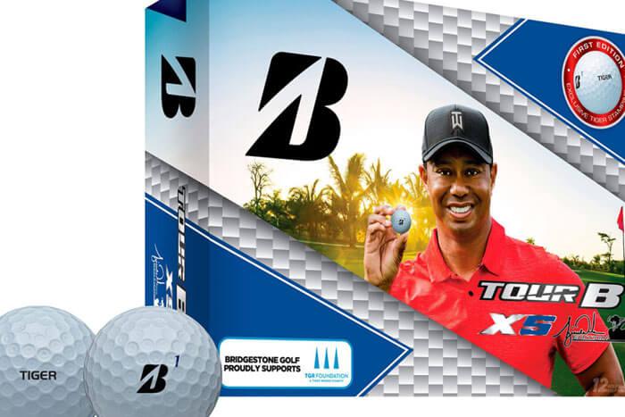 Tour B XS Tiger Woods Golf Ball