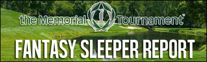 fantasy golf sleeper report